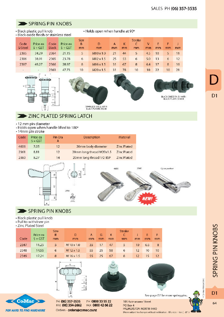 Comac: New Products