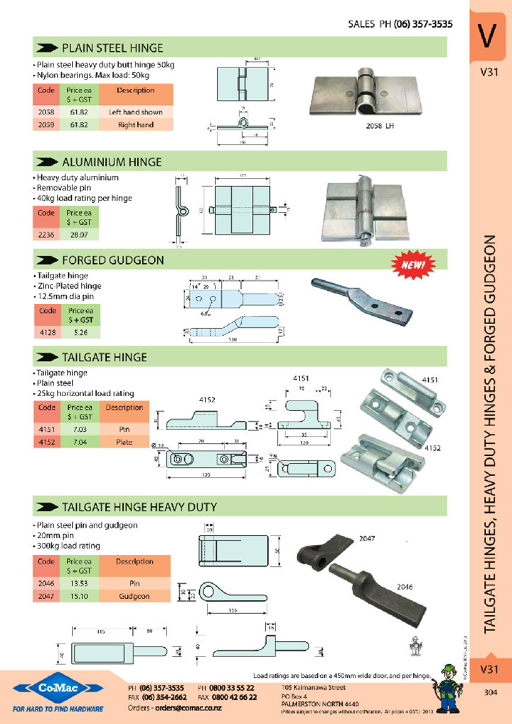 Comac New Products